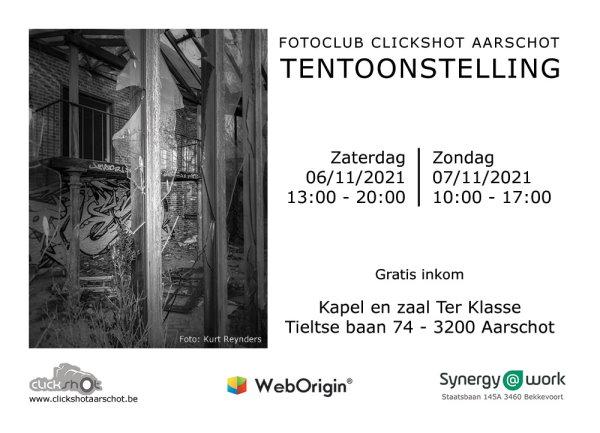 Tentoonstelling Clickshot Aarschot 2021
